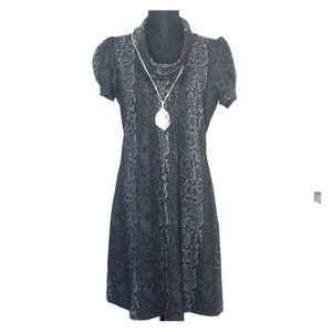 Calvin Klein woman's snake print dress